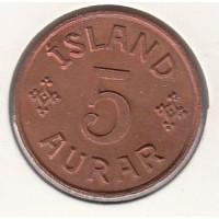 5 эре, Исландия, 1942