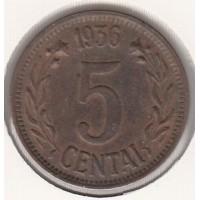 5 центов, Литва, 1936