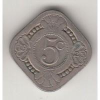 5 центов, Нидерланды, 1923