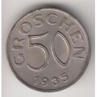 50 грошей, Австрия, 1935