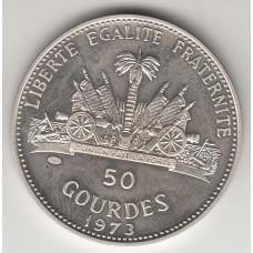 50 гурдов, Гаити, 1973