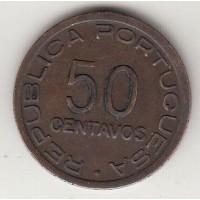 50 сентаво, Мозамбик, 1945