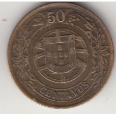 50 сентаво, Португалия, 1926