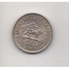 50 центов, Восточная Африка, 1949