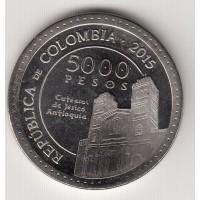 5000 песо, Колумбия, 2015