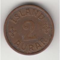 2 аурар, Исландия, 1940