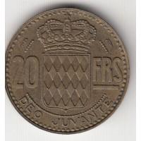 20 франков, Монако, 1950