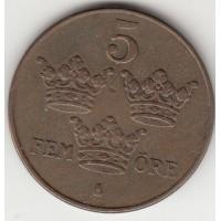 5 эре, Швеция, 1941