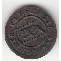 1/2 крейцера, Берн, 1785
