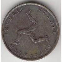 1/2 пенни, Мэн, 1839