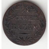 1/6 бацен, Граубюнден, 1842