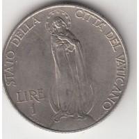 1 лира, Ватикан, 1934