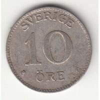 10 эре, Швеция, 1942
