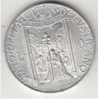 10 лир, Ватикан, 1950