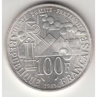 100 франков, Франция, 1985