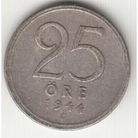 25 эре, Швеция, 1944