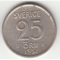 25 эре, Швеция, 1957