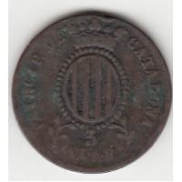 3 кварта, Каталония, 1841