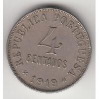 4 сентаво, Португалия, 1919