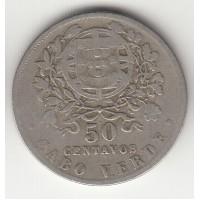 50 сентаво, Кабо-Верде, 1930