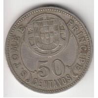 50 сентаво,Сан-Томе и Принсипи, 1929