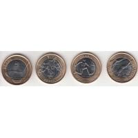 набор монет Олимпиада-2016, Бразилия, 2014