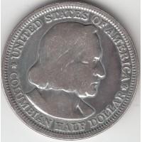 1/2 доллара, США, 1892