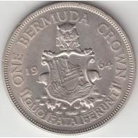 1 крона. Бермуды, 1964