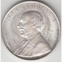 1 лира, Мальта, 1972
