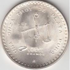 1 унция серебра, Мексика, 1980