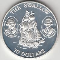 10 долларов, Соломоновы острова, 1994