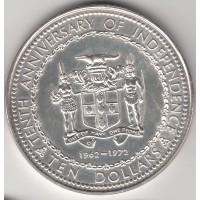 10 долларов, Ямайка, 1972