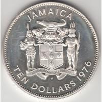 10 долларов, Ямайка, 1976
