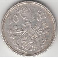 10 франков, Люксембург, 1929