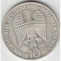 10 марок, ФРГ, 1990
