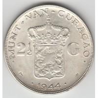 2.5 гульдена, Кюрасао, 1964