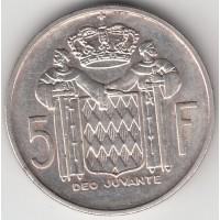 5 франков, Монако, 1960