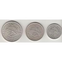 набор монет (500, 750,1000 эскудо), Португалия, 1983