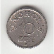 10 эре, Норвегия, 1954