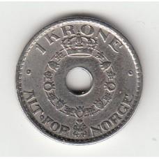1 крона, Норвегия, 1949