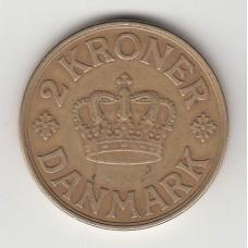 2 кроны, Дания, 1939