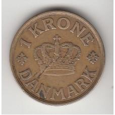 1 крона, Дания, 1921