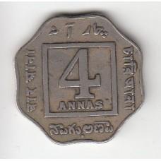 4 анны, Индия, 1921