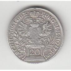 20 крейцеров, Богемия, 1760