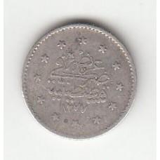 1 куруш, Османская империя, 1861