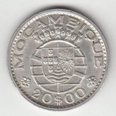 20 эскудо, Мозамбик, 1966