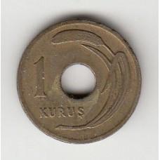 1 куруш, Турция, 1948