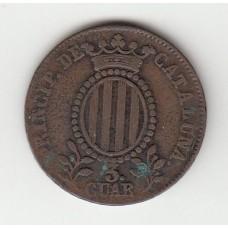 3 кварты, Каталония, 1846
