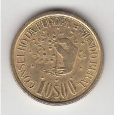 10 эскудо, Португалия, 1987