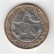 1000 лир, Италия, 1997